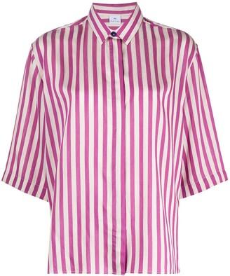 Paul Smith Striped Short Sleeved Shirt