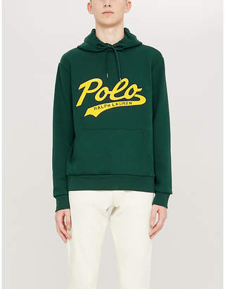 Polo Ralph Lauren Logo-print stretch-jersey hoody