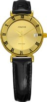 Jowissa Women's J2.047.S Strada Gold PVD Gold Dial Roman Numeral Date Watch