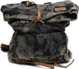 Bed Stu Santa Cruz - Black Mosaic Canvas Backpacks