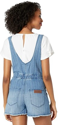 Rock and Roll Cowgirl Overalls in Medium Wash WA-9752