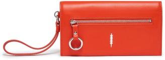 THACKER Eve Leather Crossbody Wallet