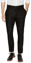 Diesel Black Gold Dotted Stripe Trousers