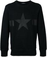 Diesel star sweatshirt