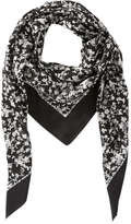 Joe Fresh Women's All Over Print Scarf, White (Size O/S)
