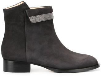 Fabiana Filippi embellished ankle boots