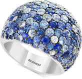 Effy Splash by Multicolor Sapphire Statement Ring (5-3/4 ct. t.w.) in Sterling Silver