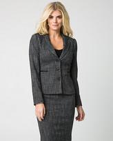 Le Château Tweed Notch Collar Blazer