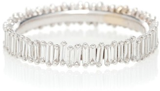 Suzanne Kalan 18kt White Gold And Diamond Eternity Ring