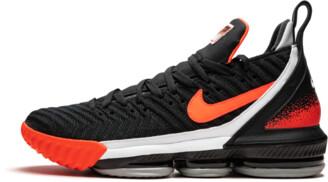 Nike Lebron 16 'Black Hot Lava' Shoes - Size 9