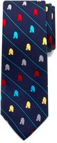Cufflinks Inc. Boy's Cufflinks, Inc. 'Star Wars(TM) - R2-D2 Stripe' Silk Tie