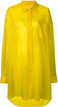 Maison Margiela longline shirt jacket