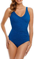 Penbrooke Mock Surplice Mio One Piece Swimsuit