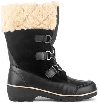 London Fog Sage Faux Fur-Trim Mid-Calf Waterproof Boots