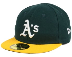New Era Oakland Athletics Authentic Collection My First Cap, Baby Boys