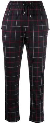 Fila Grid-Print Track Pants