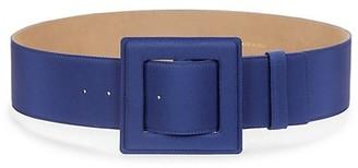 Carolina Herrera Wide Square Buckle Belt