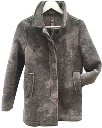 Swiss-Chriss Swiss Chriss Grey Wool Jacket for Women