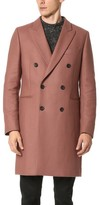 Paul Smith Double Breasted Tailored Coat
