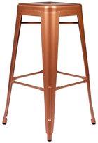Joseph Allen Metal Tolix Style 30-inch Copper Finish Bar Stool