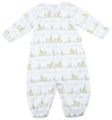 Kissy Kissy Noah's Ark Printed Convertible Sleep Gown, Size Newborn-Small