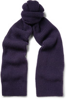 Lanvin - Ribbed Cashmere Scarf