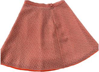 Christian Dior Orange Viscose Skirts