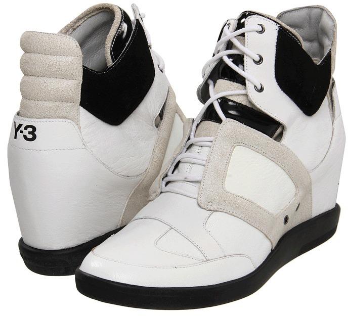 Yohji Yamamoto Y-3 Sukita (Running White Y-3/Black Y-3) - Footwear