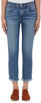 3x1 Women's W3 Straight Authentic Crop Jeans-BLUE