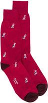 Paul Smith dalmatian print socks - men - Cotton/Polyamide - One Size