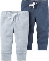 Carter's Little Baby Basics Boy 2-Pack Pants