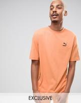 Puma T-Shirt In Orange Exclusive to ASOS