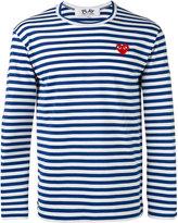 Comme des Garcons striped top - men - Cotton - M
