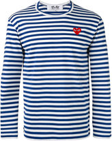 Comme des Garcons striped top - men - Cotton - S
