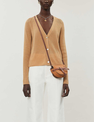 Vince Relaxed-fit ribbed cashmere cardigan