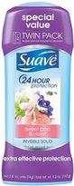 Suave Naturals Antiperspirant Deodorant - Sweet Pea and Violet - 5.2 oz - 2 pk
