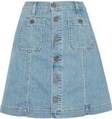 Joie Healy B denim mini skirt