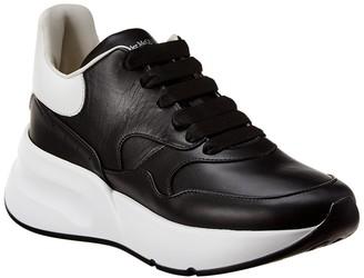 Alexander McQueen Oversized Leather Runner Sneaker