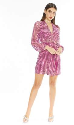 """4SI3NNA the Label Sequin """"Weila"""" Dress"""
