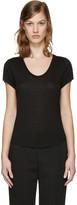 Alexander Wang Black Jersey T-Shirt