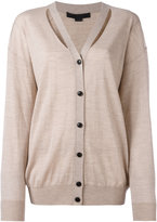 Alexander Wang cut-out detail knitted cardigan - women - Wool - S
