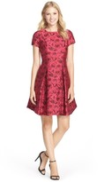 Taylor 5913M Short Sleeve Rosebud Dress