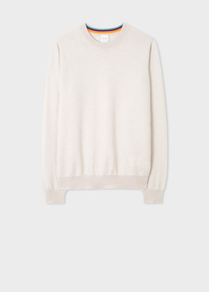 Paul Smith Women's Ecru Cashmere Sweater