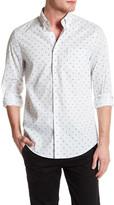 Ben Sherman Pindot Target Print Regular Fit Shirt