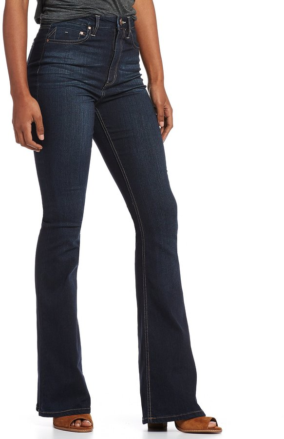 GB High Waist Flare Jeans