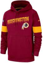 Men Washington Redskins Sideline Line of Scrimmage Therma Fit Hoodie