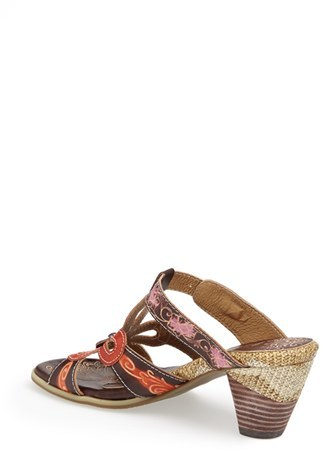 Spring Step 'Queenie' Leather Sandal