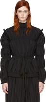 J.W.Anderson Black Pleated Jacket