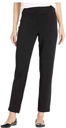 Nic+Zoe Ease Slim Pants (Black Onyx) Women's Casual Pants