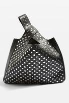 Topshop Studded Grab Shoulder Bag